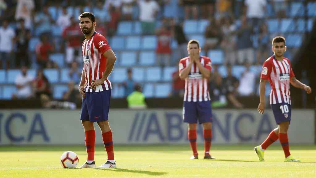 El Atlético de Madrid naufraga en Vigo (2-0)