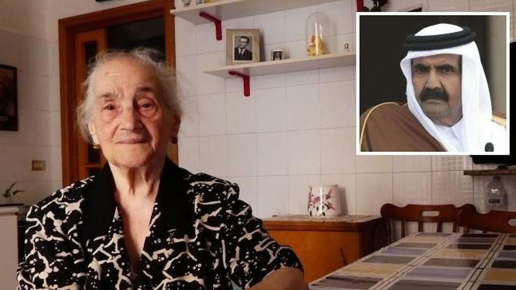 Un jeque encuentra a una mujer que le ayudó hace 21 años en Italia