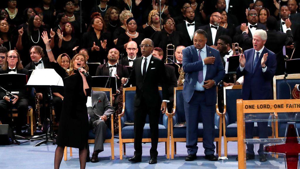 Un adiós espectacular para la gran 'reina del soul', Aretha Franklin