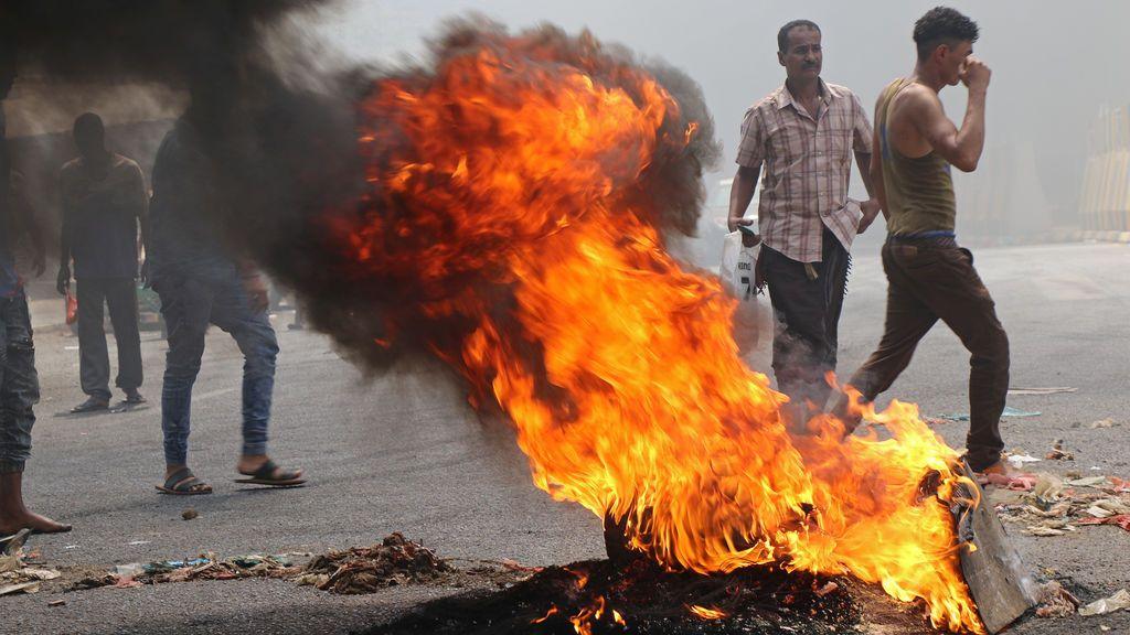 Protestas por la depreciación de la moneda de Yemén