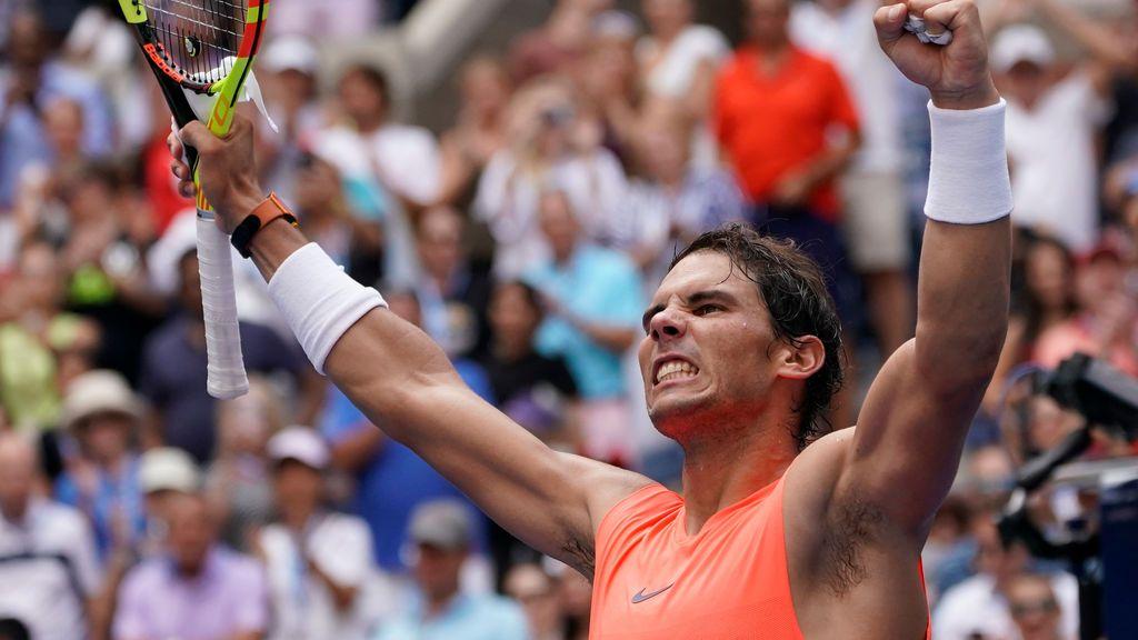 Rafa Nadal, rumbo a cuartos tras ganar Basilashvili en el US Open