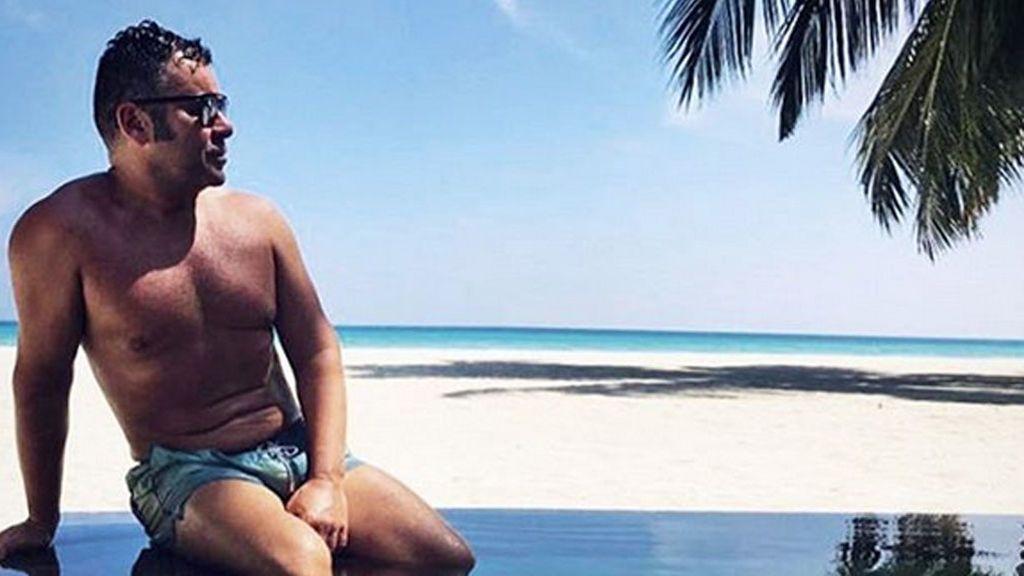 Jorge Javier Vázquez, muerto de miedo, tras sufrir un terremoto en sus vacaciones