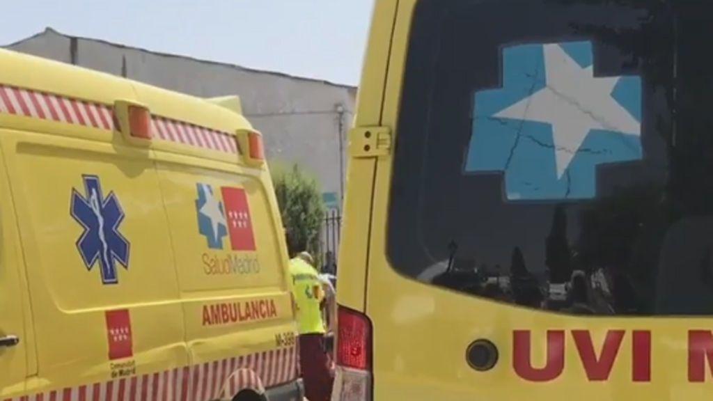 Muere un atracador tras autolesionarse y recibir un disparo en la pierna de la Policía en Torres de la Alameda