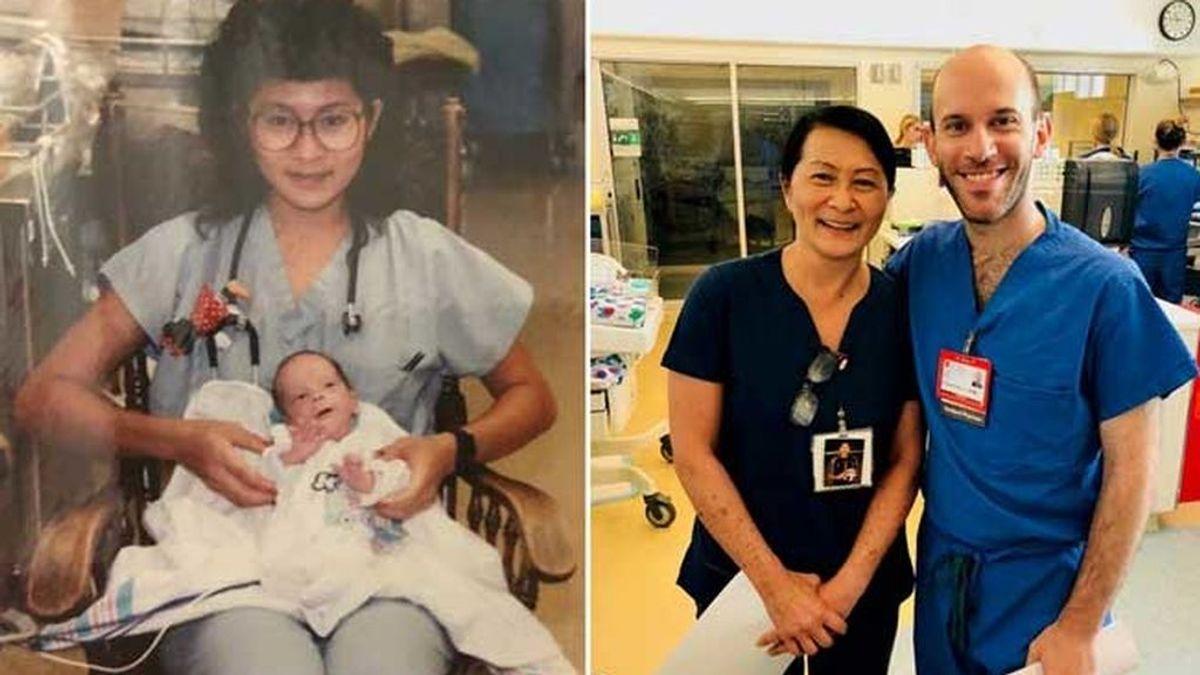 Una enfermera descubre que su nuevo compañero es el bebé que cuidó en la UCI 28 años atrás
