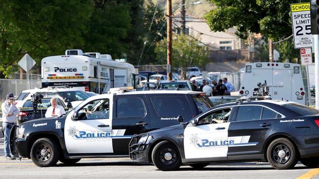 Un tiroteo en San Bernardino (California) causa al menos diez heridos