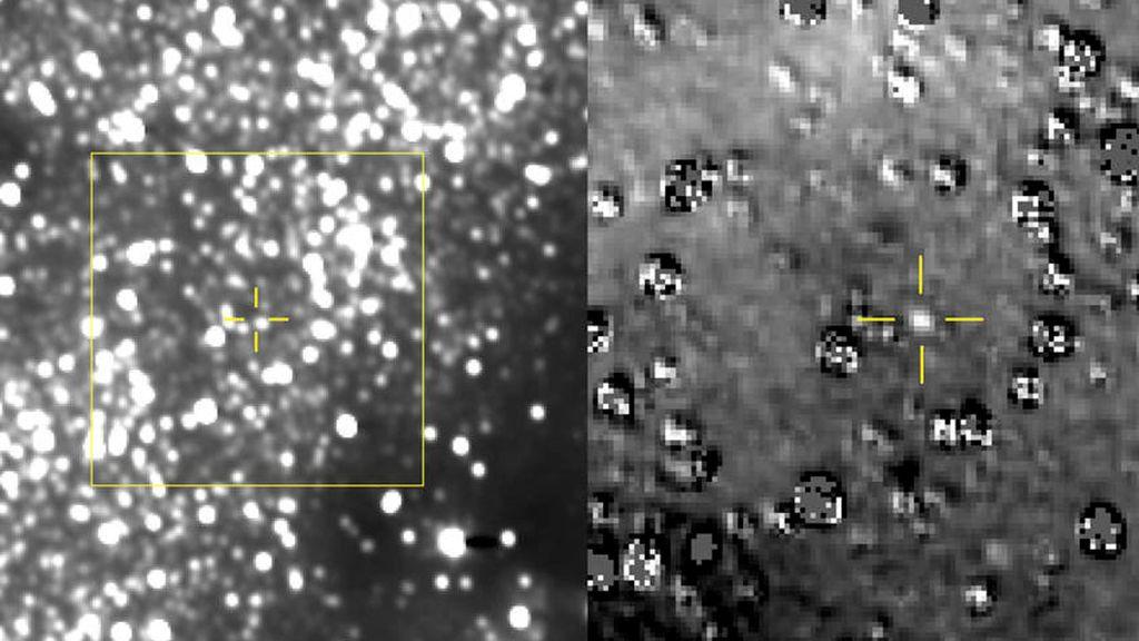 La NASA hace la fotografía más lejana del objeto más pequeño  en el cinturón de Kuiper