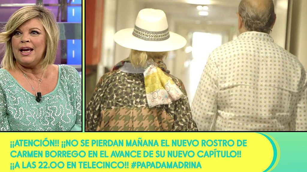 """Terelu Campos, tras la intervención de su hermana Carmen: """"Está bien y nerviosa"""""""