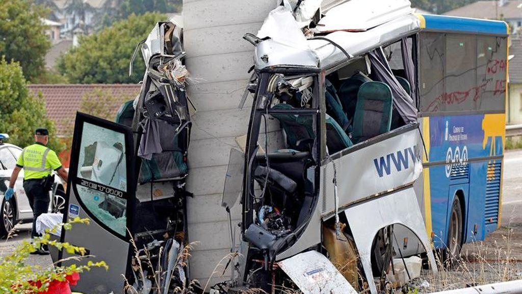 Avilés trae al recuerdo los peores accidentes de autobús en la última década