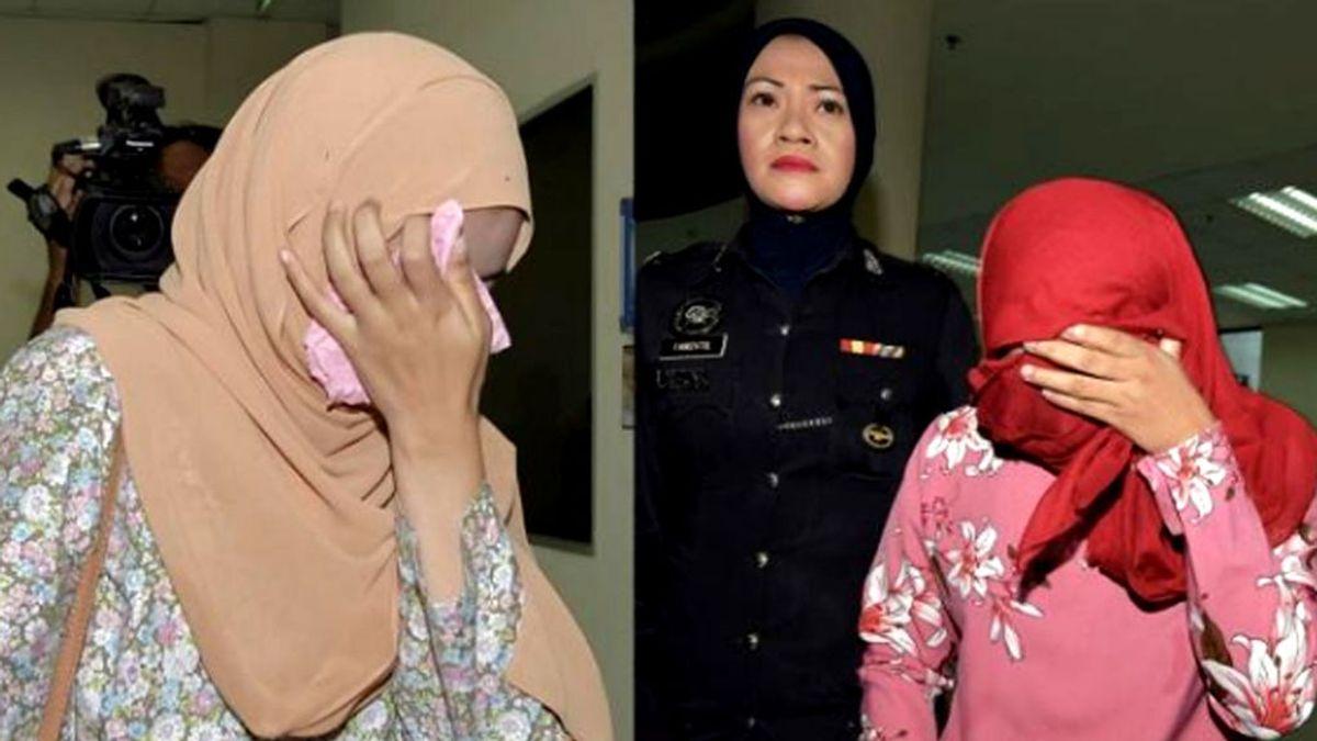 """Dos mujeres lesbianas son azotadas en Malasia ante una multitud como """"lección a la sociedad"""""""