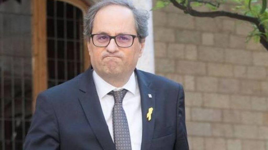 Torra no teme el 155, no prevé exiliarse y dice que el juicio a los presos catalanes es una farsa