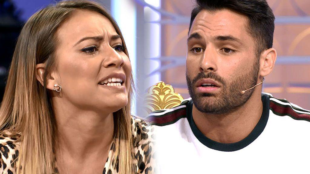 """Silvia e, Eleazar: """"Eres un falso"""""""