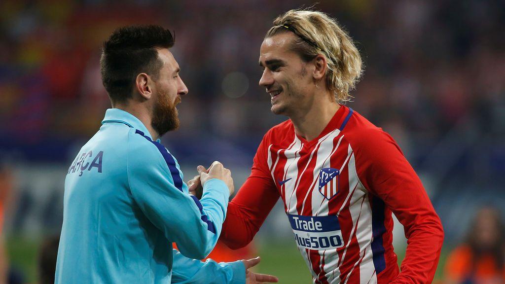 Atlético de Madrid y Barça muestran su indignación por las ausencias de Messi y Griezmann a los premios 'The Best'