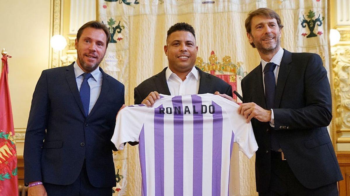 Ronaldo compra el Valladolid