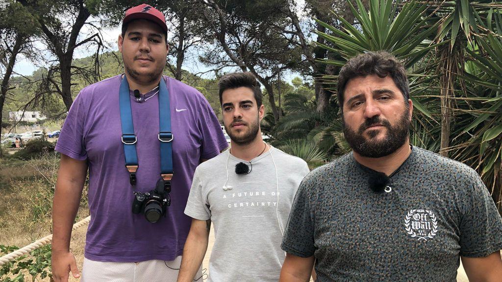 Héctor Domínguez, Sergio Cazorla y Sergio Garrido, equipo de 'Misión exclusiva'.