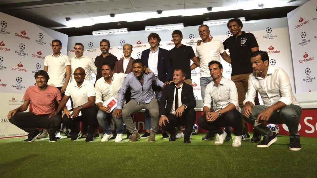 Banco Santander inicia su patrocinio de la Champions con el Santander UEFA Champions League Talks