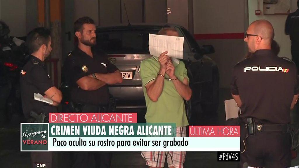 Paco, cuidador de la 'viuda negra' de Alicante
