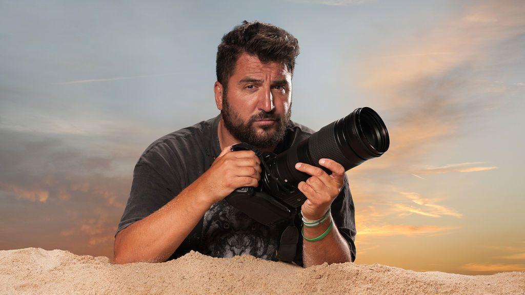 Sergio Garrido, el 'paparazzi' de 'Misión exclusiva'.