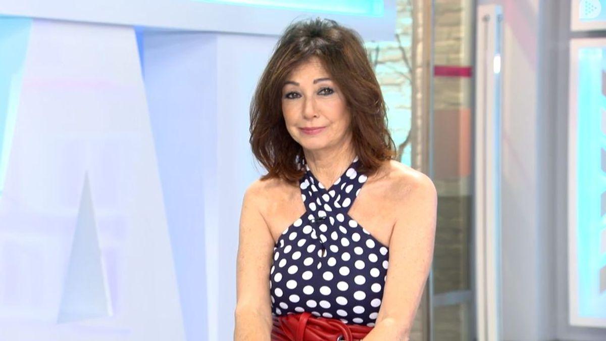 Ana Rosa Quintana, en el magacín matinal de Telecinco el 29 de junio de 2018.