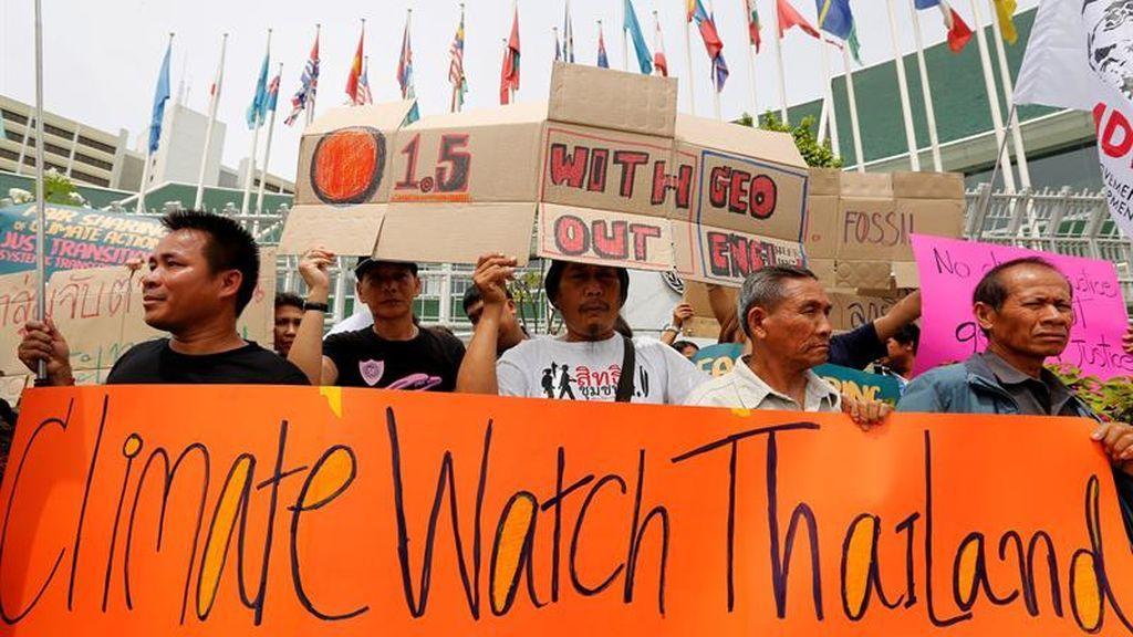 Protestas ante el encuentro de la ONU contra el cambio climático