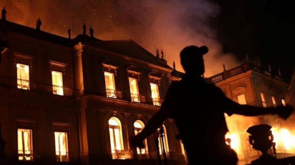 incendio brasil