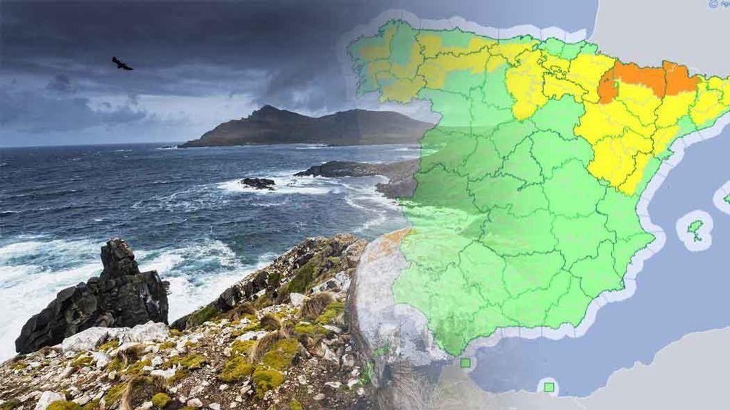 Alerta por tormentas: estos son los 20 puntos con mayor riesgo de España