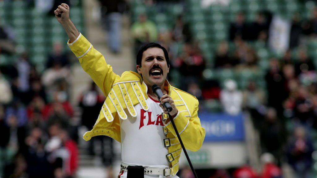 Freddie Mercury en Zurich.