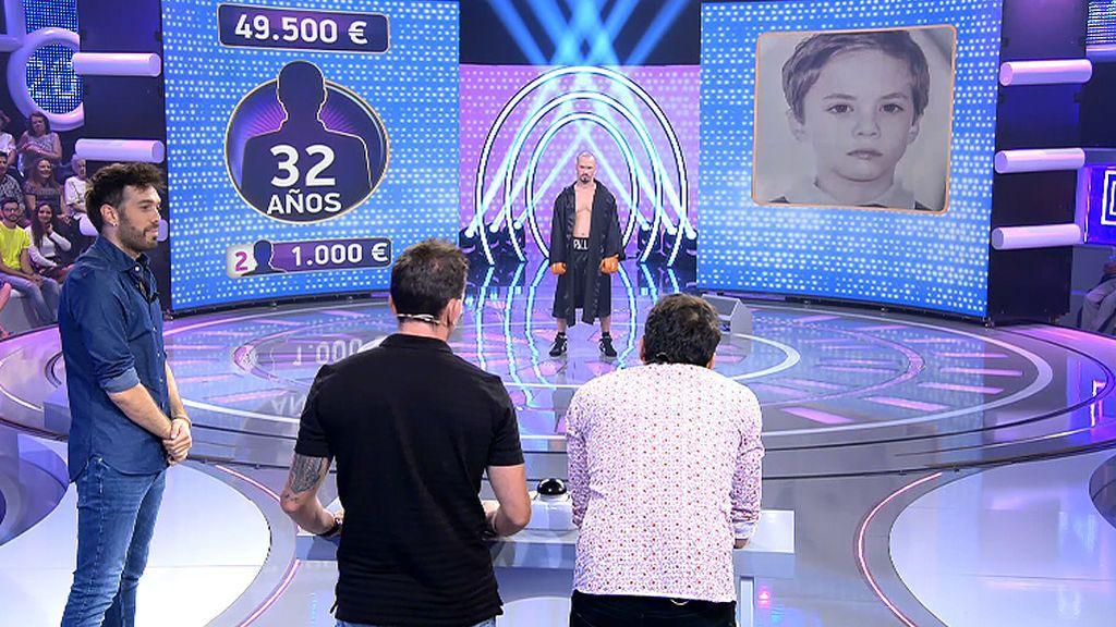 El gesto duro de boxeador de Alexander se la lía a Agustín y Alejandro