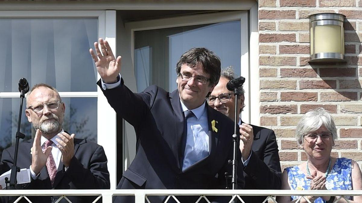 Torra y Puigdemont trasladan a Bruselas la acción política de la Generalitat