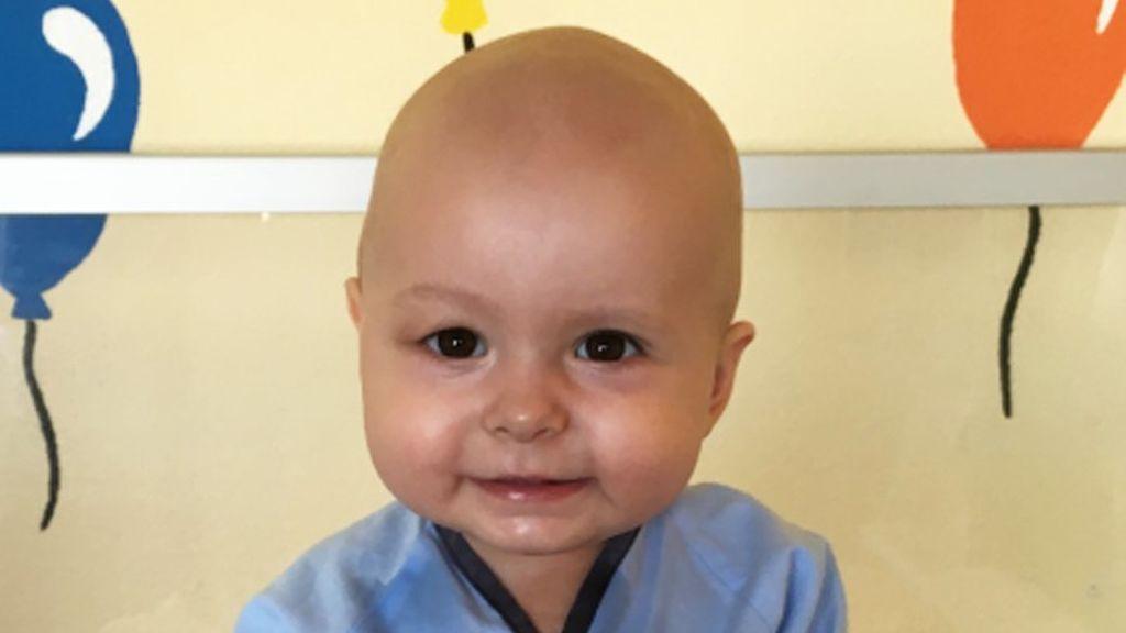 'SuperCataleya', la bebé de 11 meses cuya vida depende de un  trasplante urgente de médula