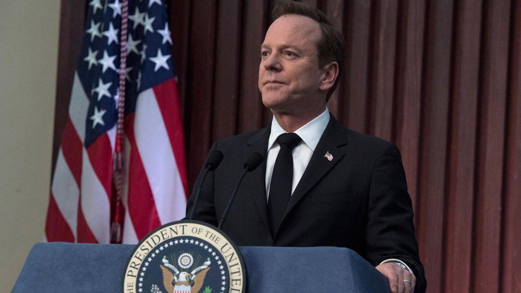 Kiefer Sutherland interpreta a Tom Kirkman en 'Sucesor designado'.