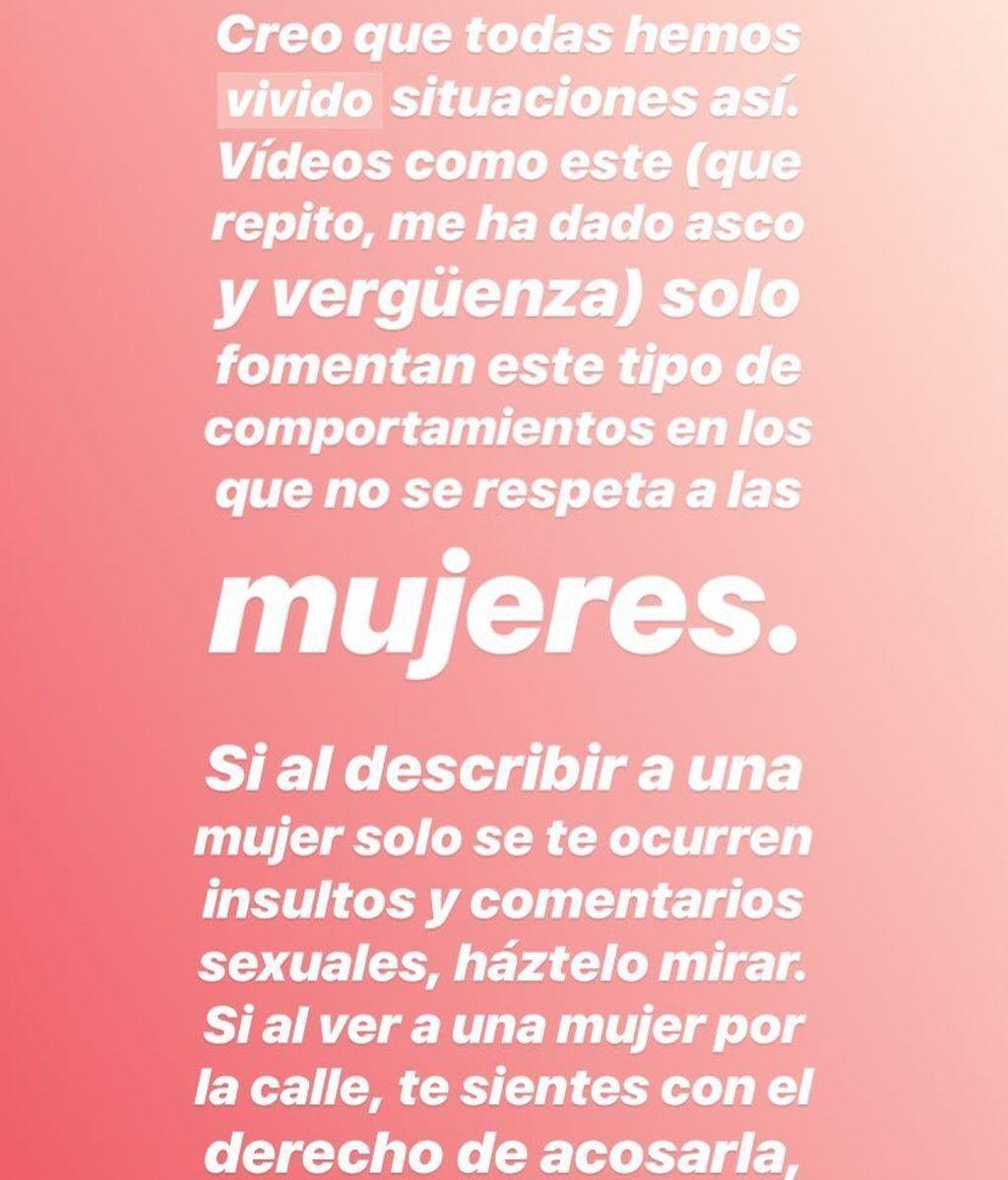 vídeo Dulceida acoso