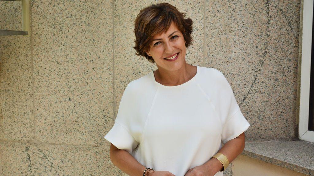 La periodista Cristina Ónega, directora del canal 24 Horas.
