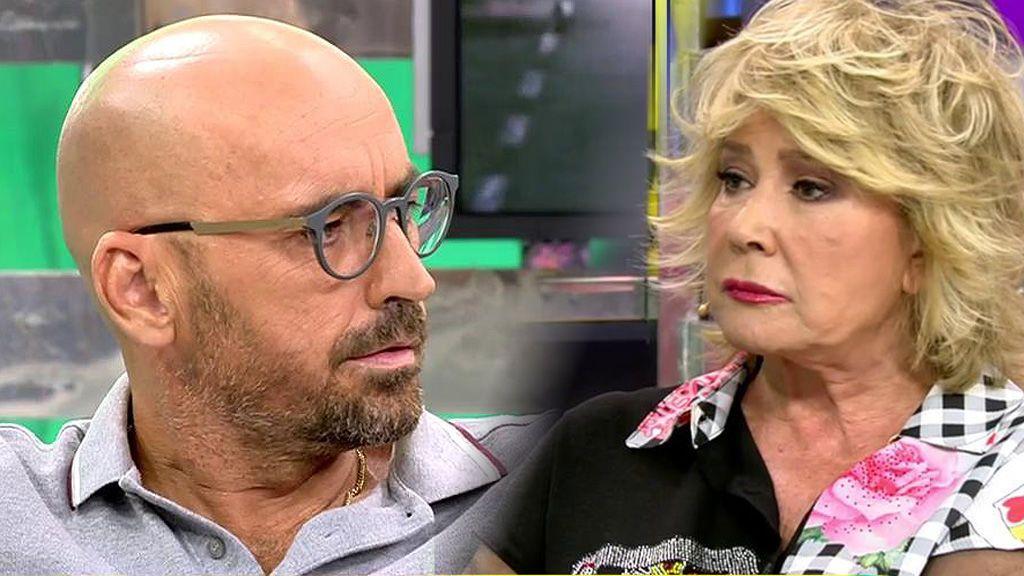 """Mila Ximénez niega a Diego Arrabal: """"Estás mintiendo, Belén no está negociando la exclusiva de su boda"""""""