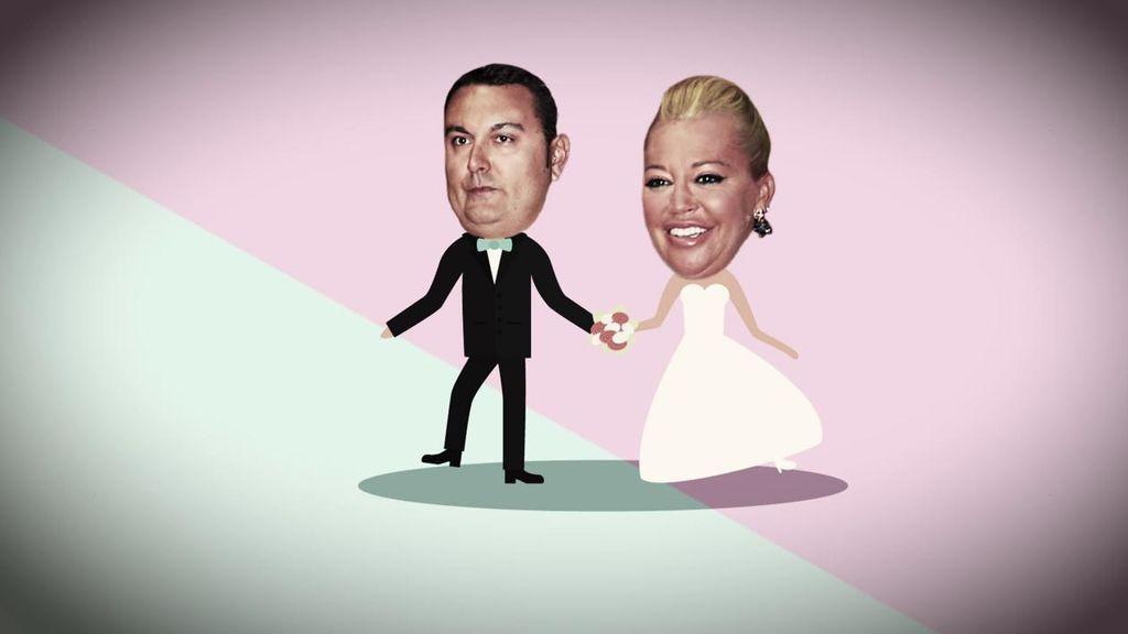 La comida, tarta, fiesta... La boda de Belén Esteban y Miguel podría costar cerca de 70.000 euros