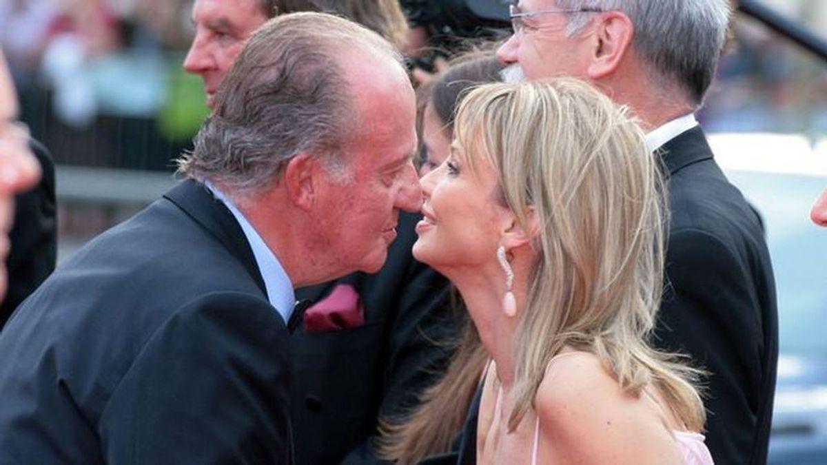 Corina y don Juan Carlos