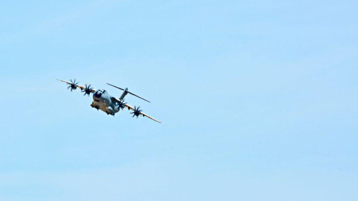 Imágenes inéditas del accidente del A400M usadas en la investigación judicial