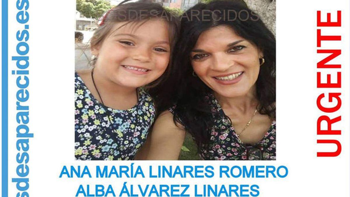 La Guardia Civil pide colaboración para encontrar una madre y su hija de 6 años, desparecidas