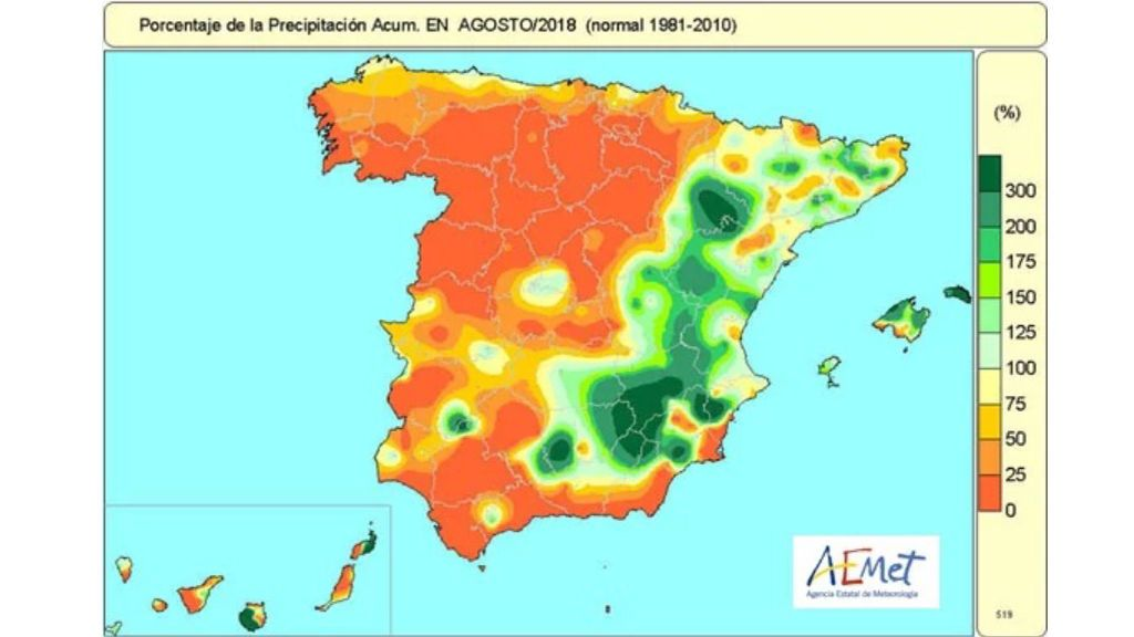precipitaciones agosto