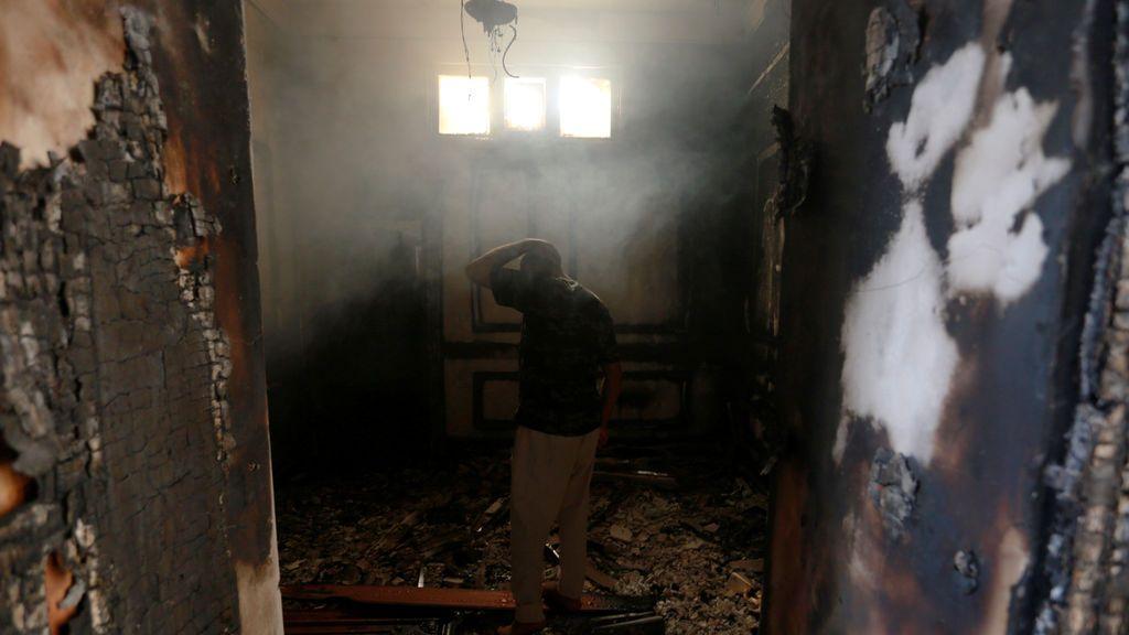 Los enfrentamientos en Iraq se saldan con fuertes destrozos