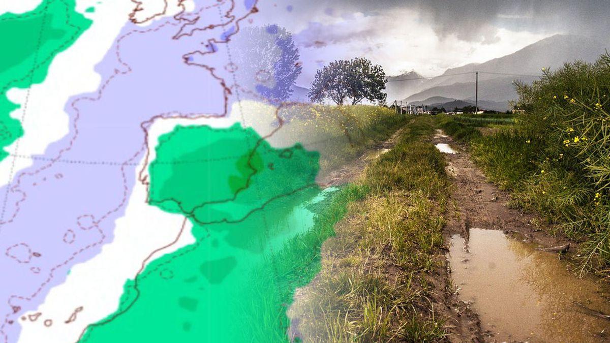 Septiembre de 'aguas mil': la Dana afectará con fuerza a todo el país la semana que viene
