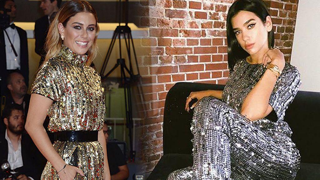Blanca Suárez y Dua Lipa: prepárate para tomar la calle con un total look de lentejuelas