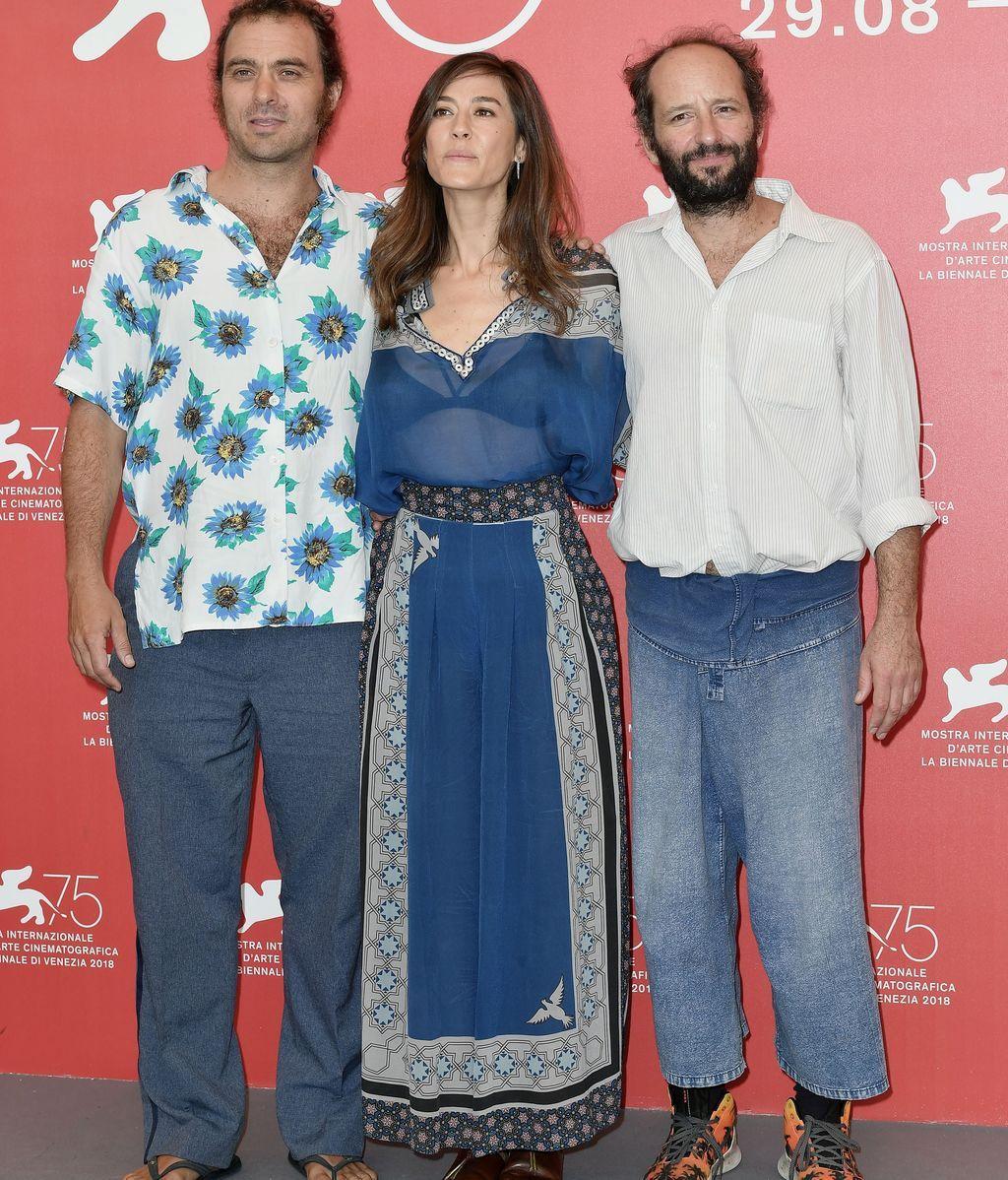 Carlos Reygadas, Natalia López y Philip Burgers.