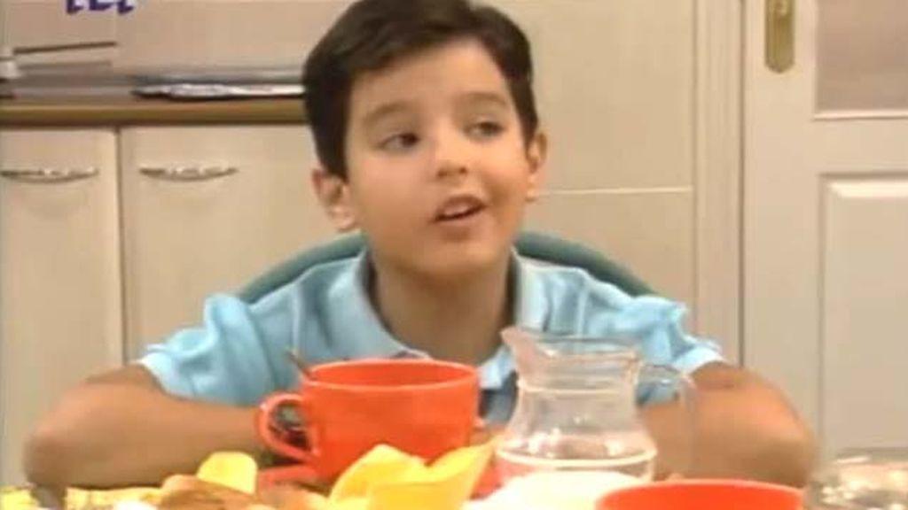 Aarón Guerrero en 'Médico de familia'