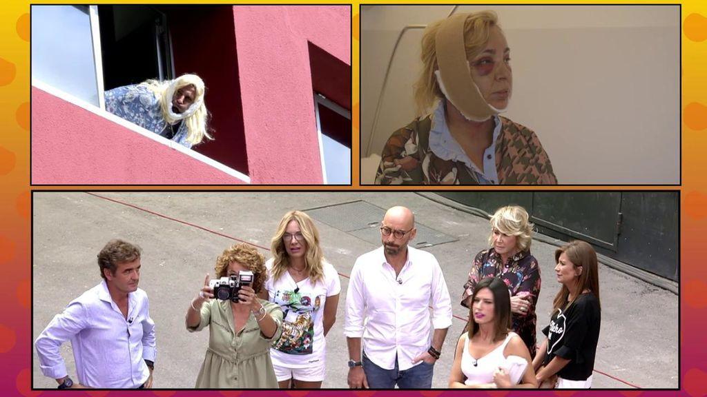 La recreación del robado de Carmen Borrego con su nueva cara