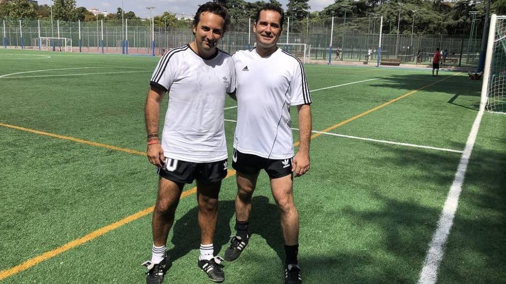 Iker Jiménez también juega al fútbol y marca golazos de otro planeta