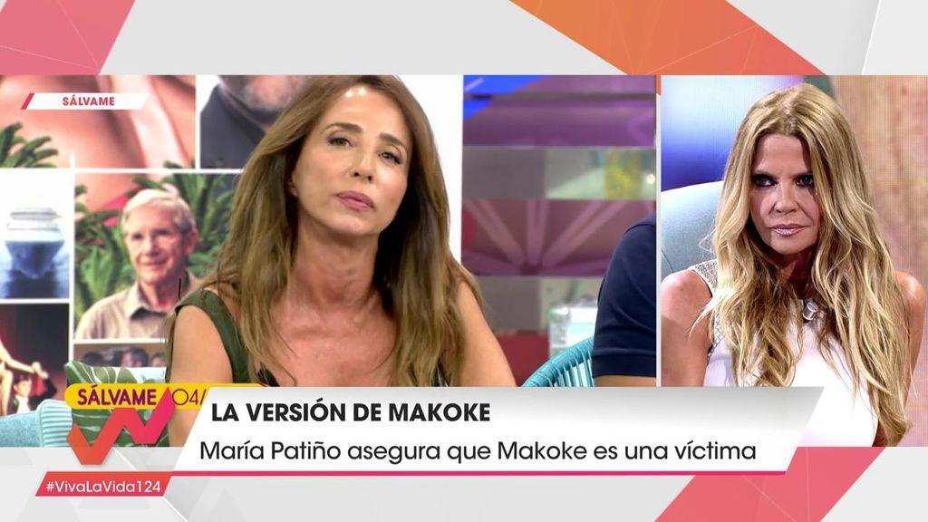 """Makoke responde a las palabras de María Patiño: """"No soy víctima de nada"""""""
