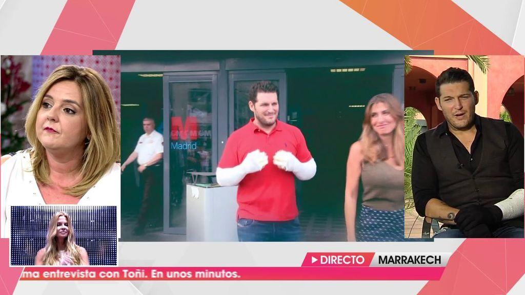 Manu Tenorio vuelve más fuerte que nunca a los escenarios tras su accidente doméstico