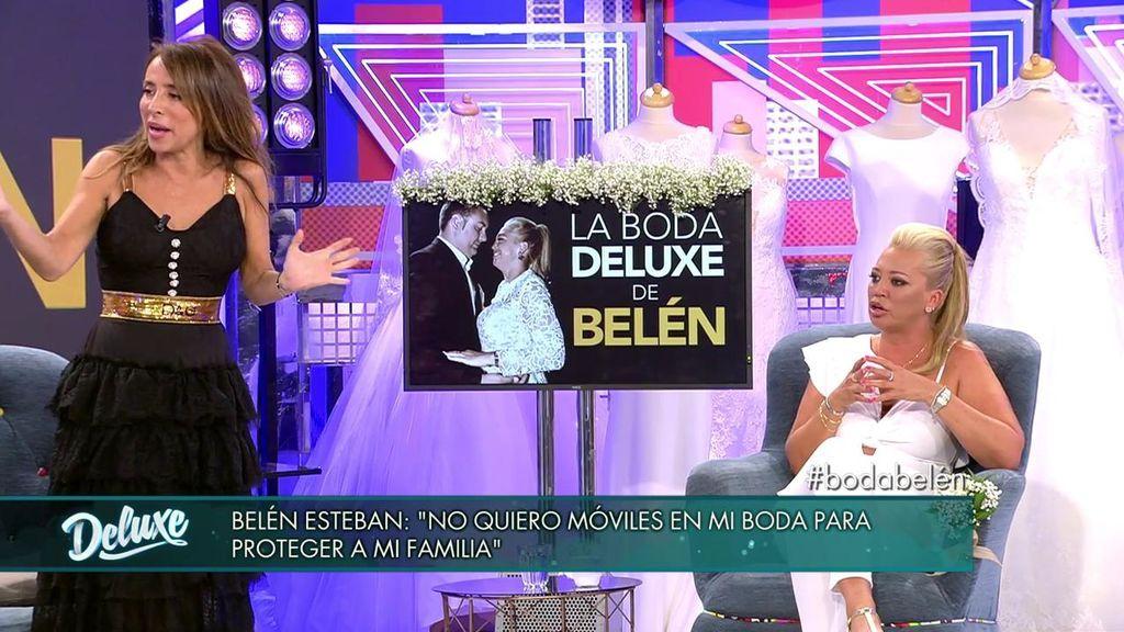 La boda de Belén y las fotos: aclara por qué va a requisar los teléfonos móviles