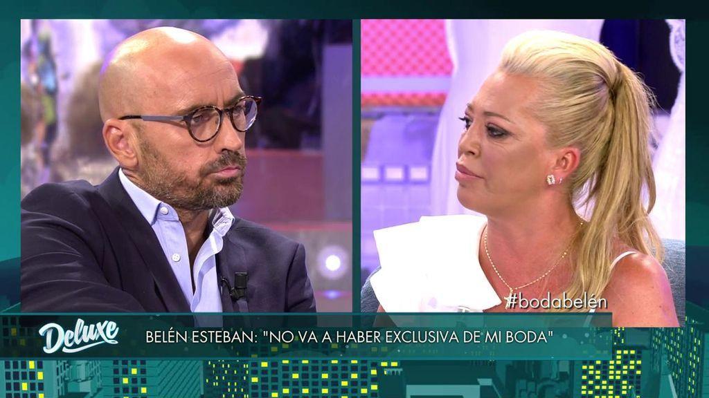 Belén Esteban, tajante: no habrá exclusiva con su boda y explota contra Diego Arrabal