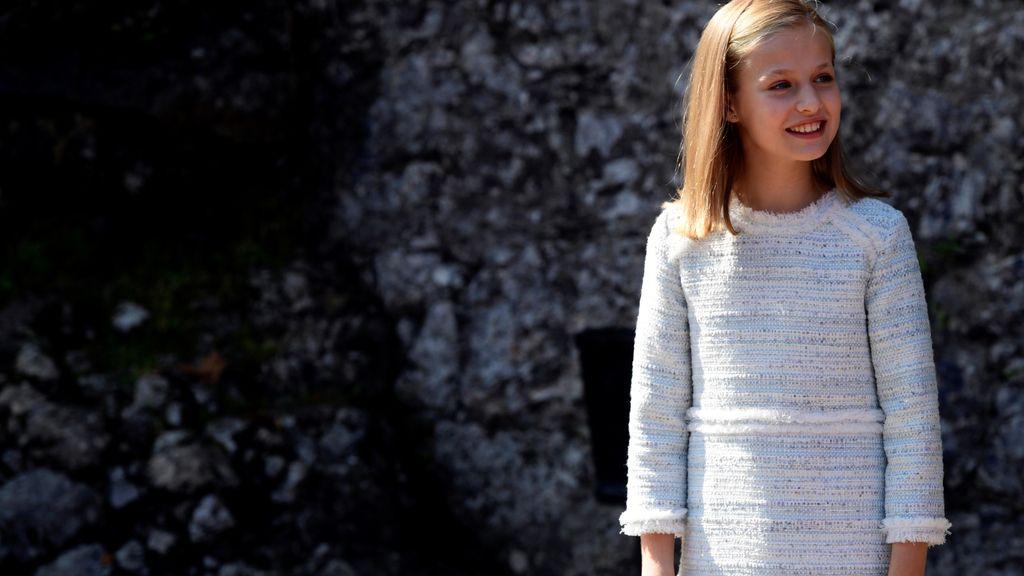Primer acto de la Princesa Leonor en Asturias